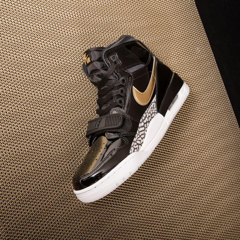 c57139f92ec check out : S A L E 🔥 Air Jordan Legacy 312 - Black/Metallic Gold-White