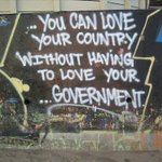 Image for the Tweet beginning: If we love our country,