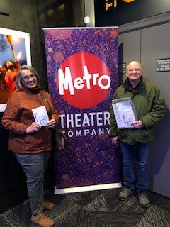 We love our @SeniorCorps RSVP tutors, who enjoyed a performance of The 100 Dresses, based on book by Eleanor Estes, at our Spring Recognition Event and joined a discussion with local educators at @TheGrandelSTL.  Thank you @MetroTheater for hosting.  @nationalservice @KSMO_CNCS