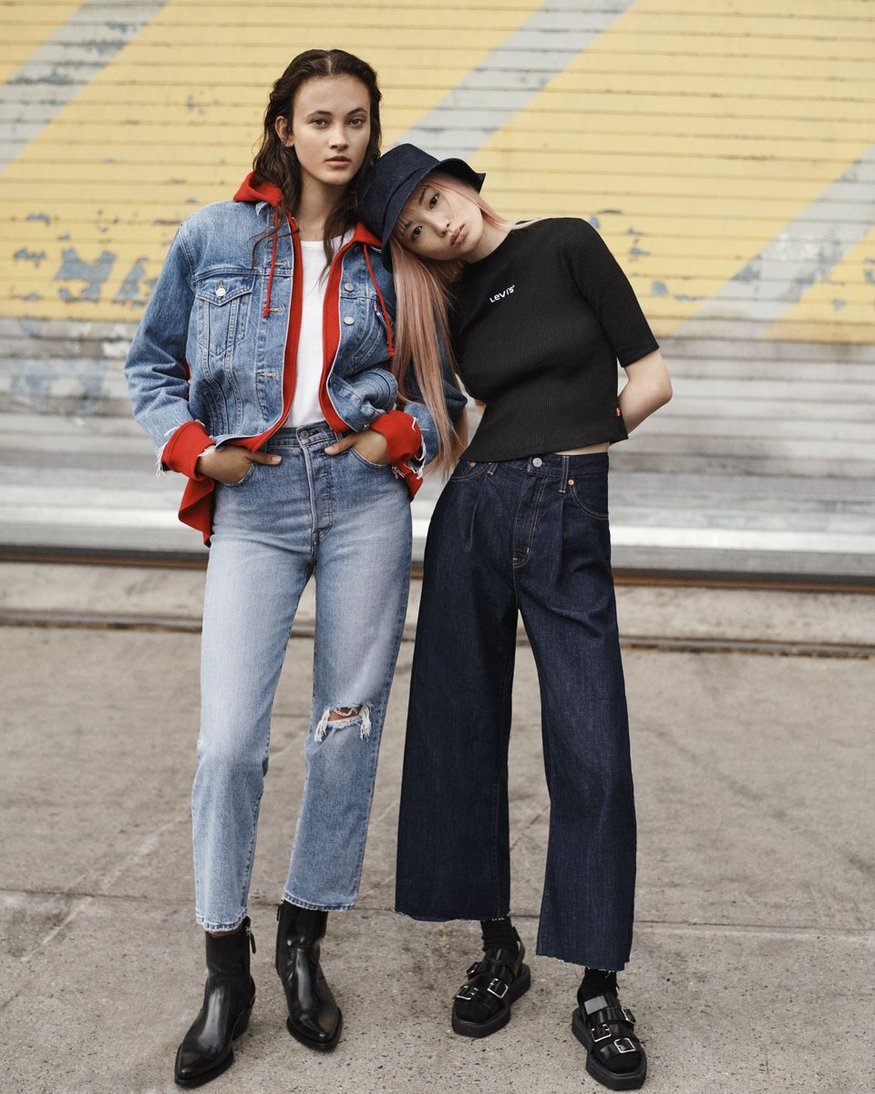 Here's a fit we can get behind. Meet the Ribcage. A jean with a rise that just don't quit. http://bit.ly/2GOX8TG