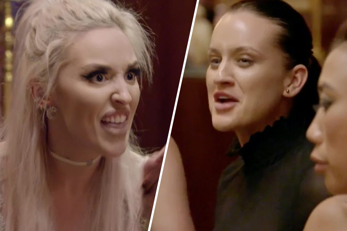 The best reactions to #MAFS Ines and Elizabeth's showdown: https://t.co/v513EP1W8M