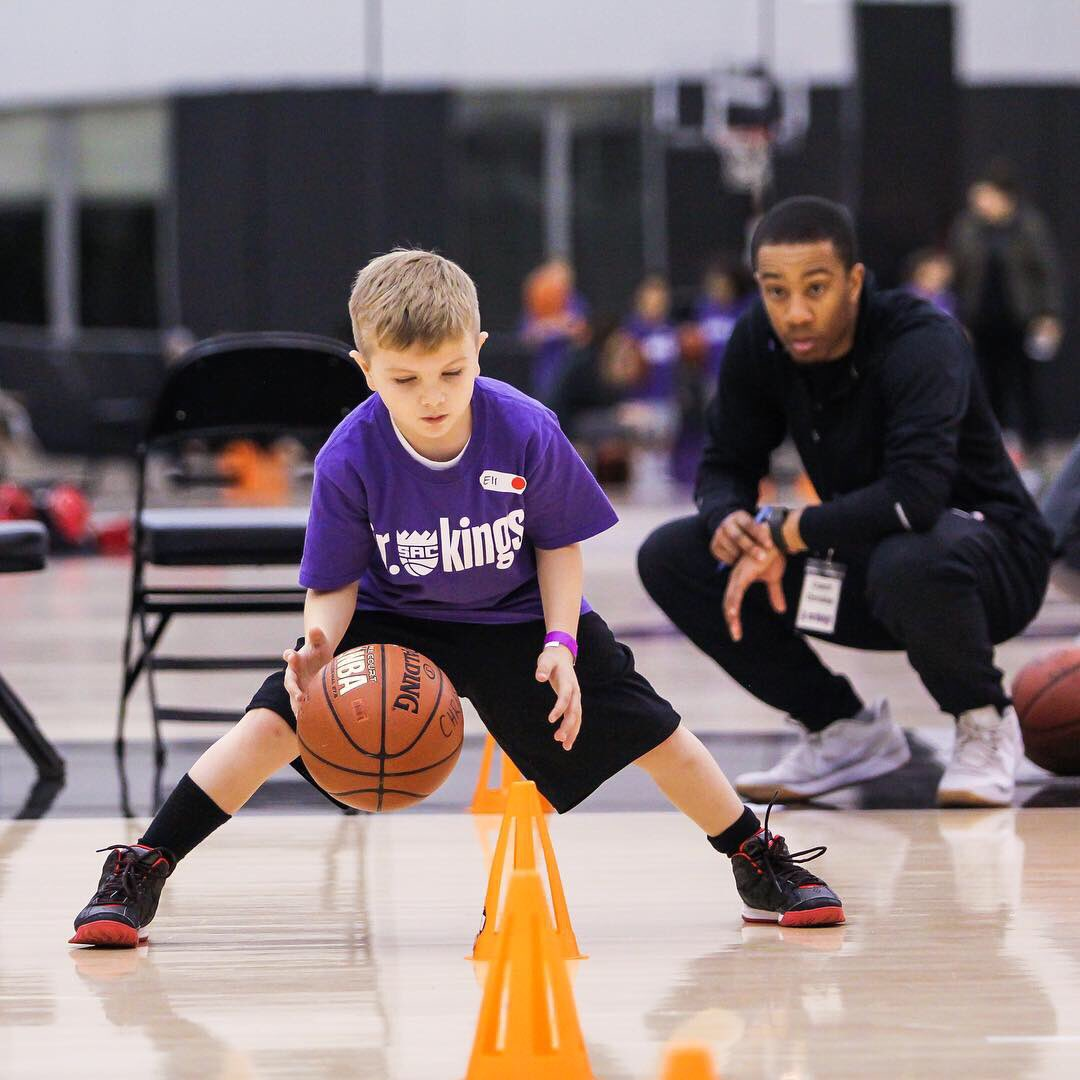 Had a gym full of All-Stars! Day three of the Jr. Kings All-Star Camp was the perfect way to conclude the weekend.   Be part of the Jr. Kings Program, head to http://Kings.com/jrkings