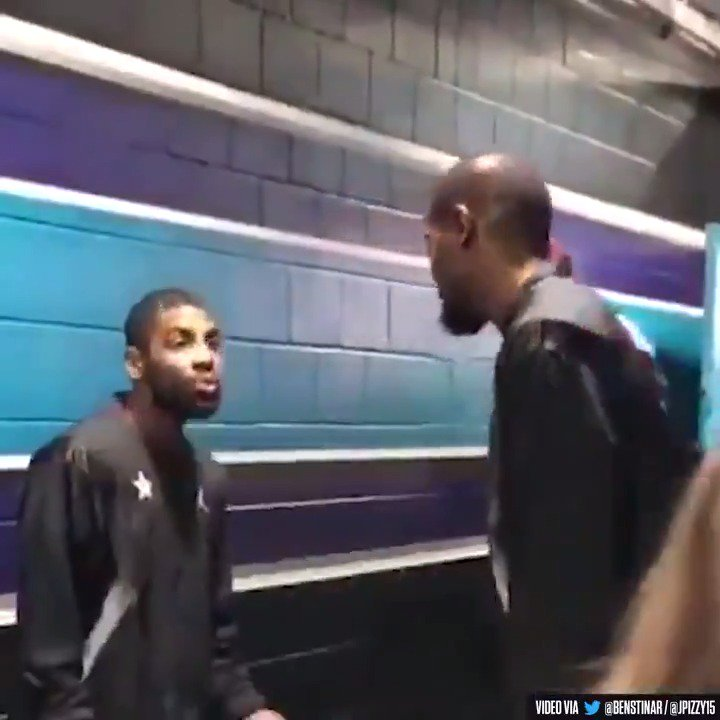 'Exclusive' leaked audio from Kyrie & KD's conversation at the All-Star Game