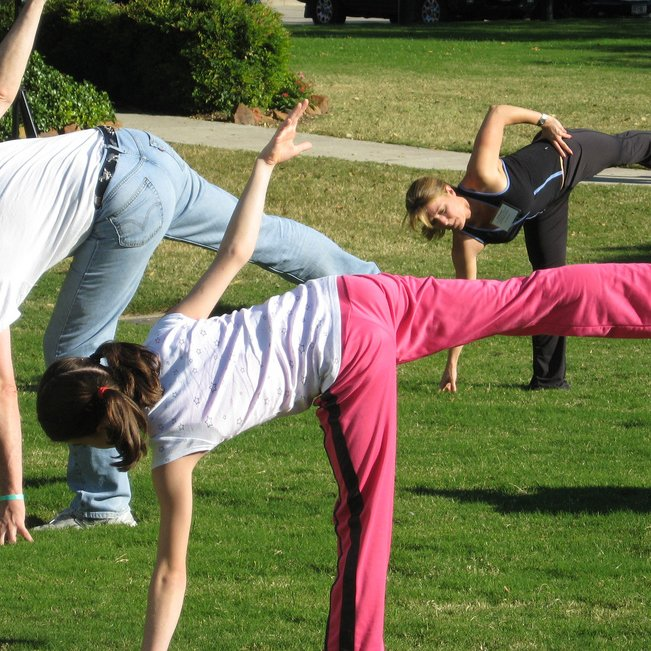 Whats on Appleby in Eden Valley: Yoga on the Lawn