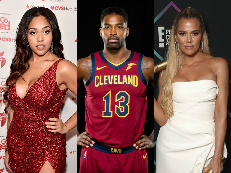 Konstantly-Kheated-On Khloe Kardashian Kicks Flagrantly Foul F**kboy Tristan Thompson To The Kurb After He Allegedly Krushed Kylie's BFF Jordyn Woods To Kalabasas Krumbs  (Image via Jason Miller/Todd Williamson/E! Entertainment/Theo Wargo/Getty / Getty)   https://t.co/fmrY1vt3e1
