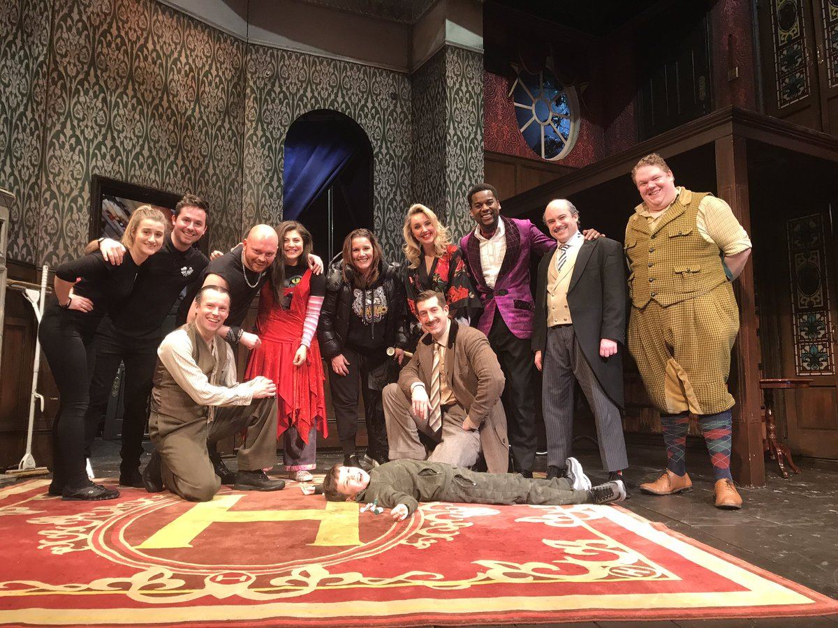 WOW!! What a show!!! I couldn't hear much of it as my son was laughing so loud next to me!!' He's had the best night at haversham manor with this talented bunch!!! If you haven't seen any of the @mischiefcomedy shows then you're missin out! GET BOOKED! You won't be disappointed!