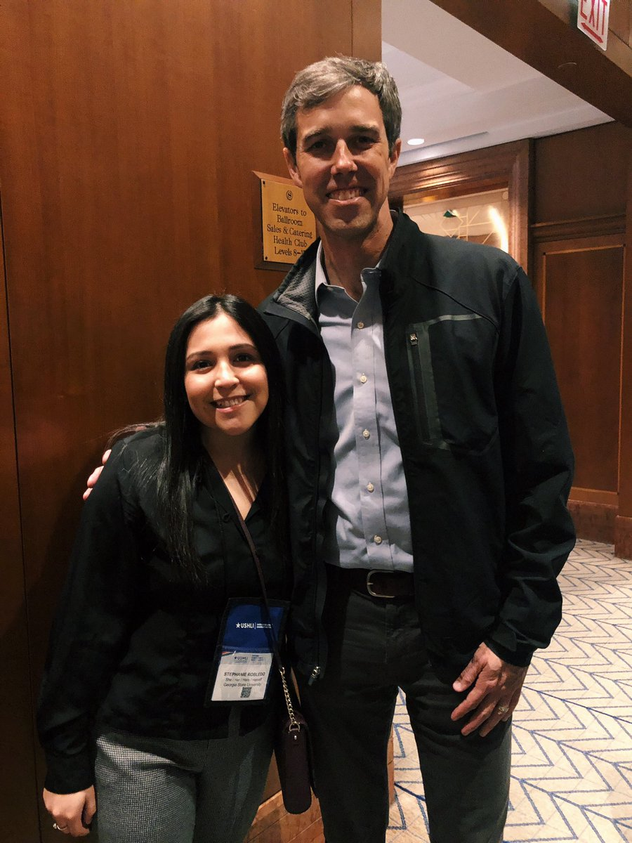 Had the amazing opportunity to hear some icons for the Hispanic community speak this weekend!! #SiSePuede #BetoORourke <br>http://pic.twitter.com/ueZnu48KfC
