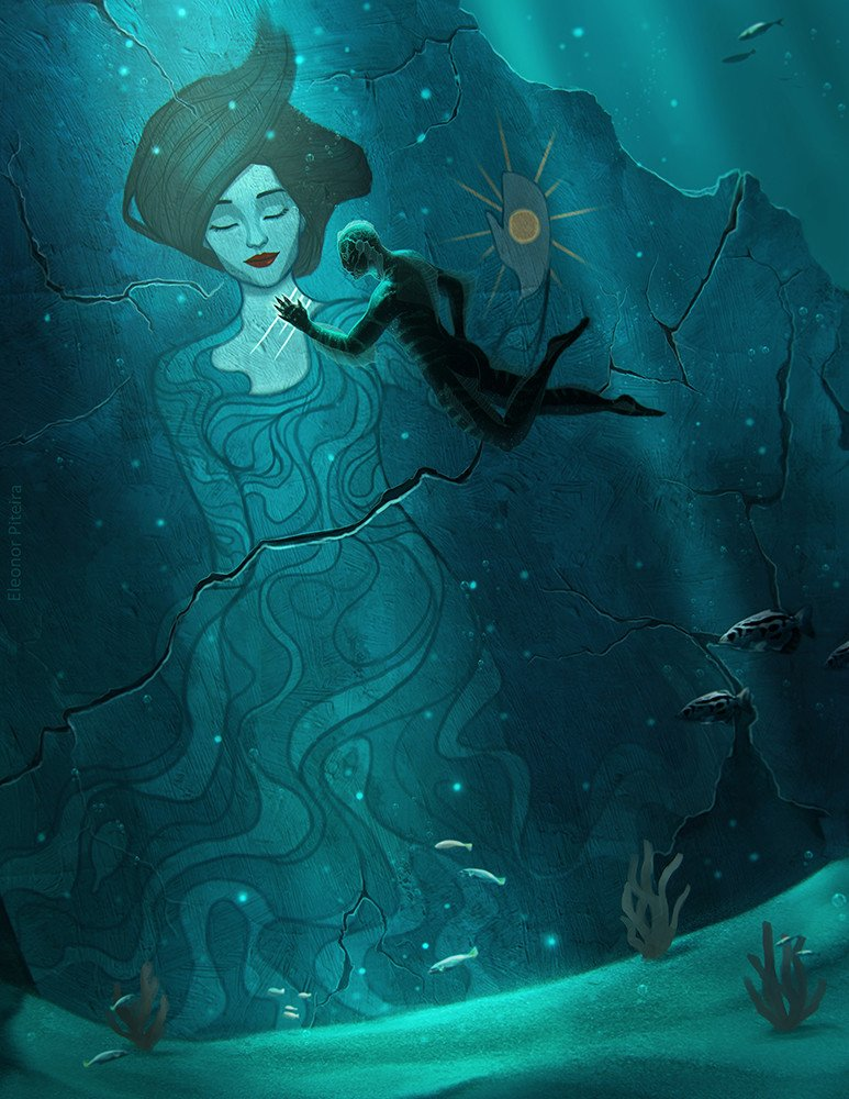 BEAUTIFUL, powerful image by Eleonor Piteira on Shape of Water.