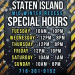 Image for the Tweet beginning: ❄️ Staten Island - Mid