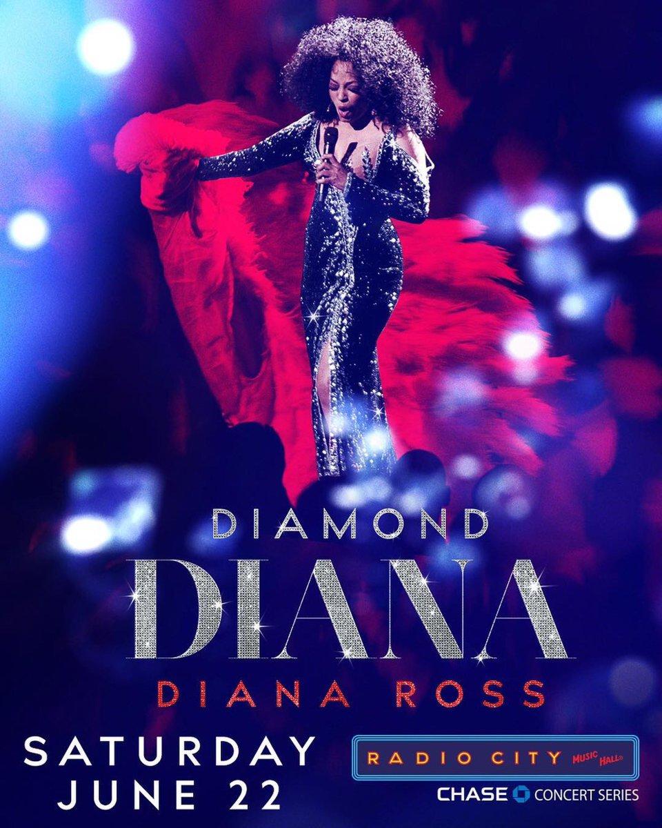 "Hello New York"" I'm PROUD to be back in New York in June !@RadioCity Music Hall #DiamondDiana<br>http://pic.twitter.com/KkWynJvLzT"