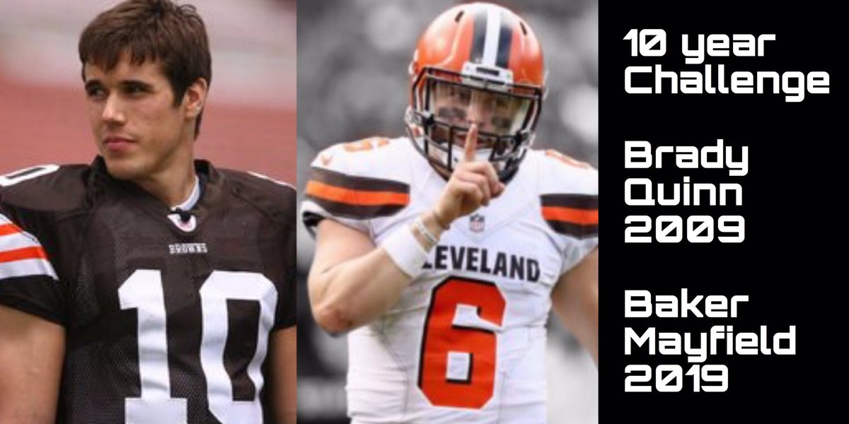 Cleveland with the glow up   #10YearChallenge #Browns<br>http://pic.twitter.com/w7X9F0H9eQ