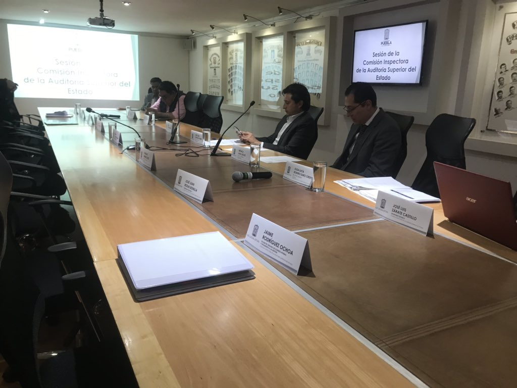 Por segunda vez en una semana se cancela sesión de la Comisión Inspectora del @CongresoPue por falta de cuórum.    @e_consulta @periodistasoy