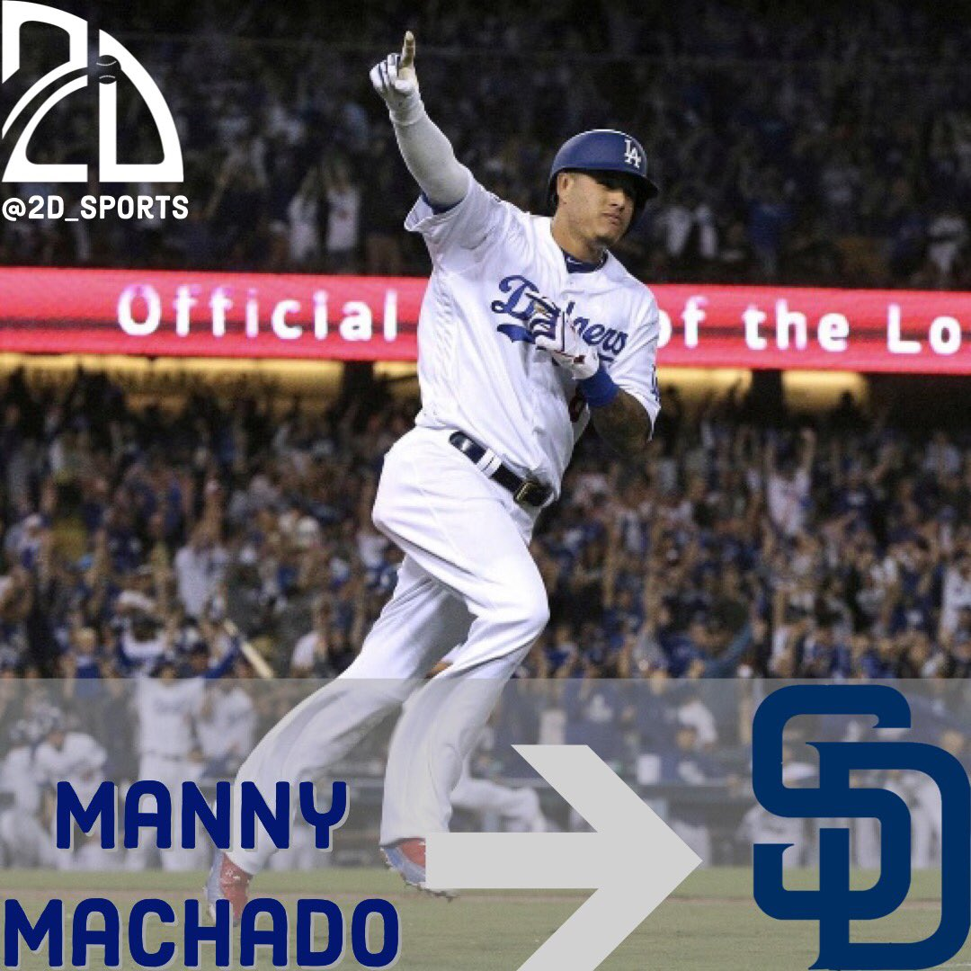 Manny Machado signs 10-year, $300M contract with Padres! 😳🤑