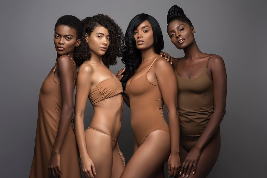 Bye, #Prada, #Moncler, #Gucci & #Burberry: Hello, #BlackExcellence Luxury Brands -- Designer: Ade Hassan @nubianskin officially launched the luxury lingerie and hosiery line in 2014 after realizing that mainstream nude was not inclusive of all tones. https://trib.al/yU5Nbj2