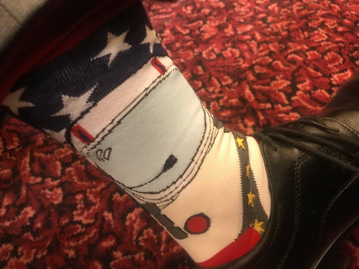 My wacky space helmet socks for Members photo day @philipdalidakis #springst