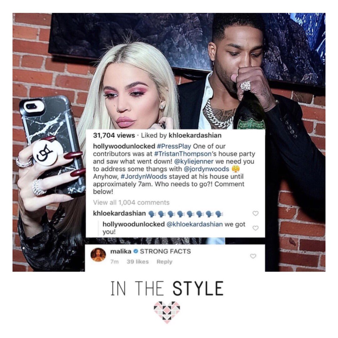 What do we think? True or false??? 👀 Keeping up with the Kardashian's is a full time job! Girls, what do we think about the latest news about Tristan & Jordyn?