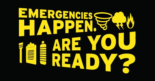 Are you ready in case of an emergency? Attend a FREE Emergency Preparedness Workshop this Thursday at Hebron & Josey Library. Registration is required. http://bit.ly/2MFzAkZ