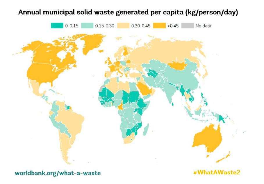 How much waste do we each produce? Well, that varies by region—drastically. https://t.co/TU2QVMvLIv   #WhatAWaste2 https://t.co/2vYPP3V8OH