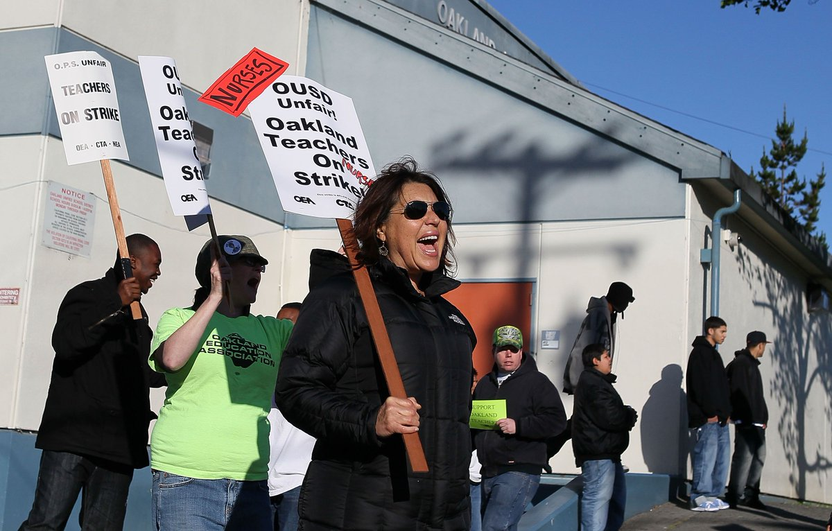 Oakland's teachers strike is another sign of economic inequality in tech's backyard