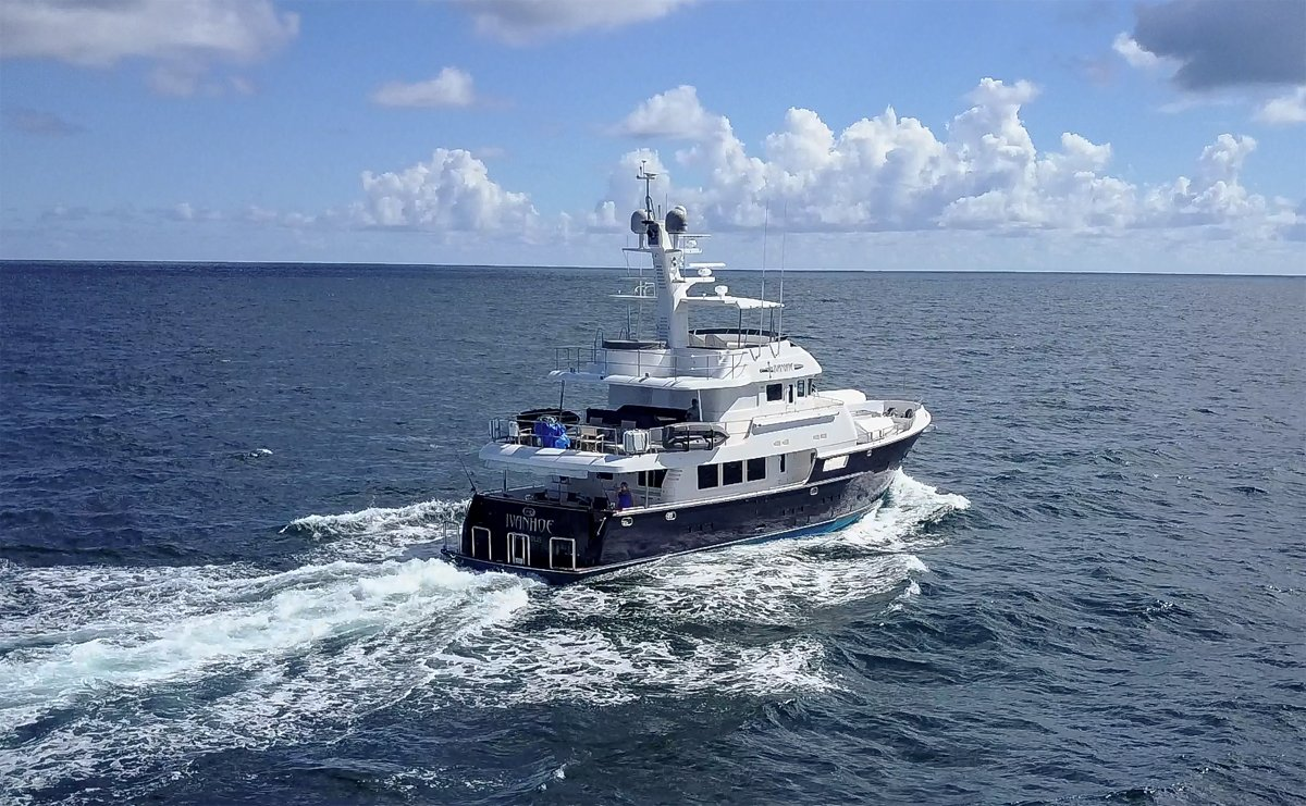 See the Nordhavn 76 at the Palm Beach show March 28-31, 2019