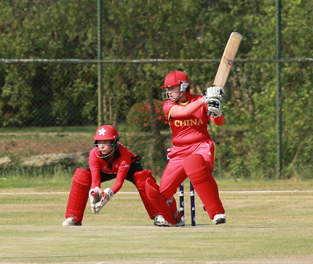 76/4 😁     ⬇⬇⬇ 85/9 😬     ⬇⬇⬇ One-wicket win 😅  The ICC Women's Qualifier - Asia 2019 witnessed an absolute thriller between China and Hong Kong!  REPORT & HIGHLIGHTS 👇 http://bit.ly/ChinaThriller