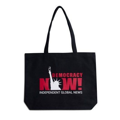 For our 23rd birthday, if you give $23 to support our independent news program, we'll send you a tote bag! Plus, all donations today will be double-matched, meaning they'll go *three times* as far to support our show. Snag your tote bag here: http://ow.ly/sTdH30nLeCL