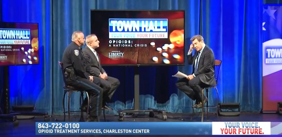 .@ericbolling hosts a town hall on the #OpioidsEpidemic in Charleston, #SouthCarolina.   WATCH LIVE:  https://t.co/OvT89on1J4