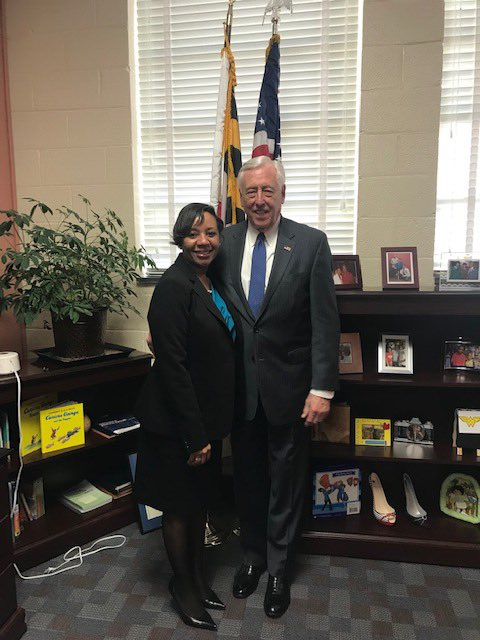 Appreciated the opportunity to meet with @pgcps Interim CEO Dr. Monica Goldson this afternoon to learn about her priorities for students in #MD05 & discuss how we can continue to work together to ensure students have the tools they need to succeed.