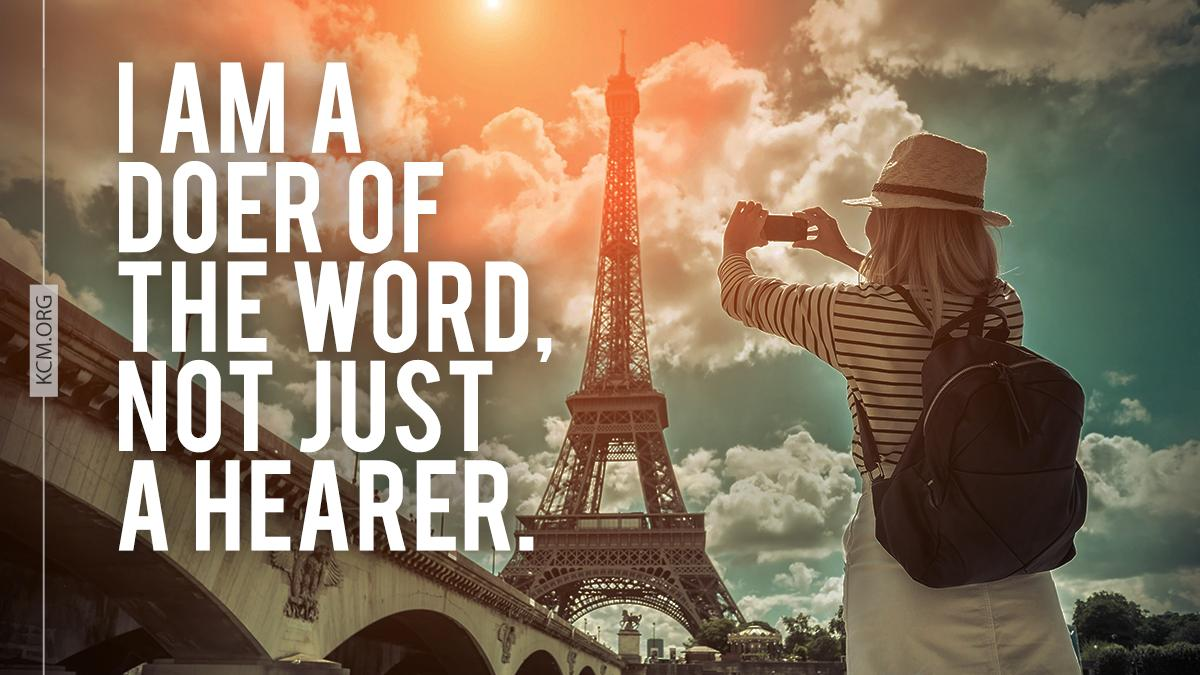 Be doers of the word, and not hearers only. Otherwise, you are deceiving yourselves. James 1:22 #BVOV #behealed