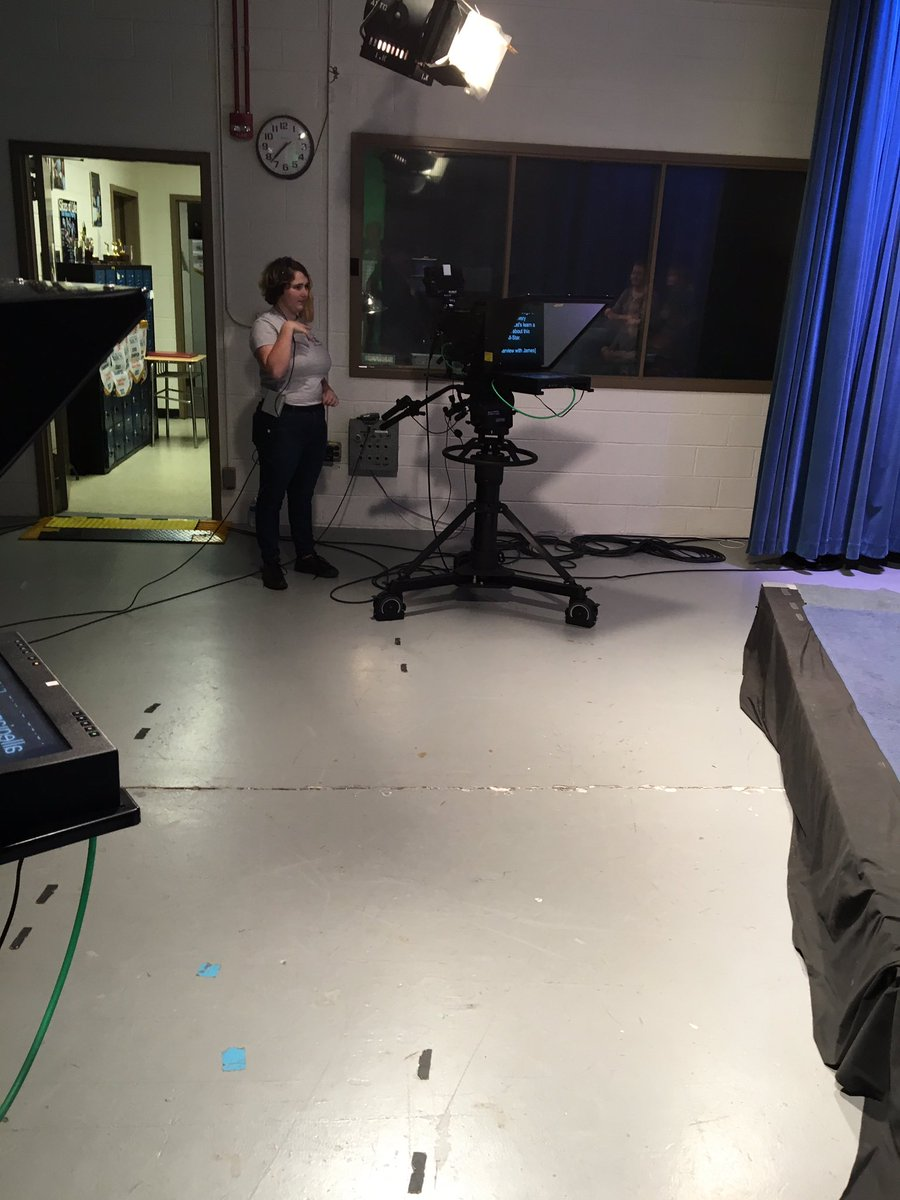 Taping the TV morning announcements <a target='_blank' href='http://twitter.com/APSCareerCenter'>@APSCareerCenter</a> behind the scenes. <a target='_blank' href='https://t.co/MtxryohYhi'>https://t.co/MtxryohYhi</a>