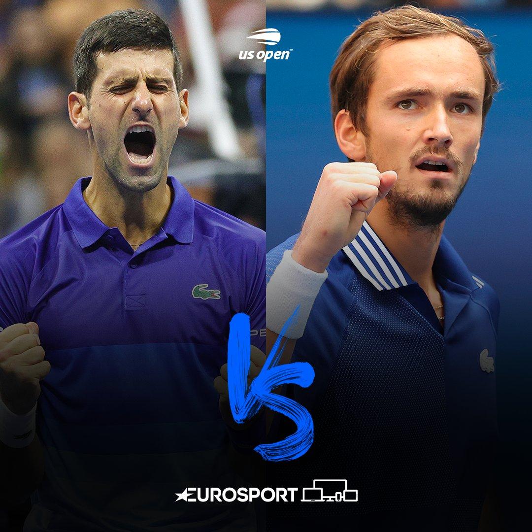 Novak Djokovic 🆚 Daniil Medvedev #USOpen'da müthiş final 😍