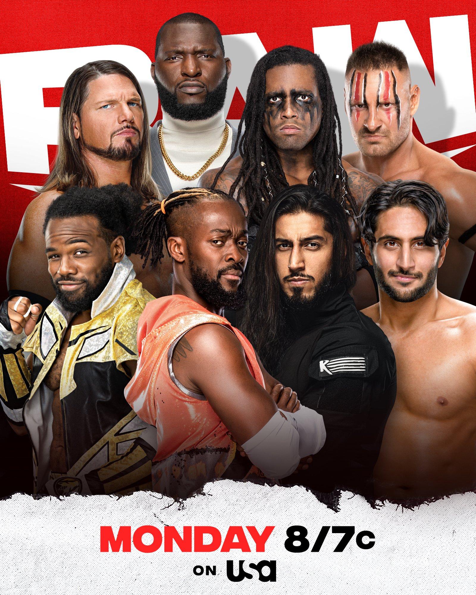 WWE Raw Preview (13/09/21): Lashley vs. Orton; US Title Open Challenge 34