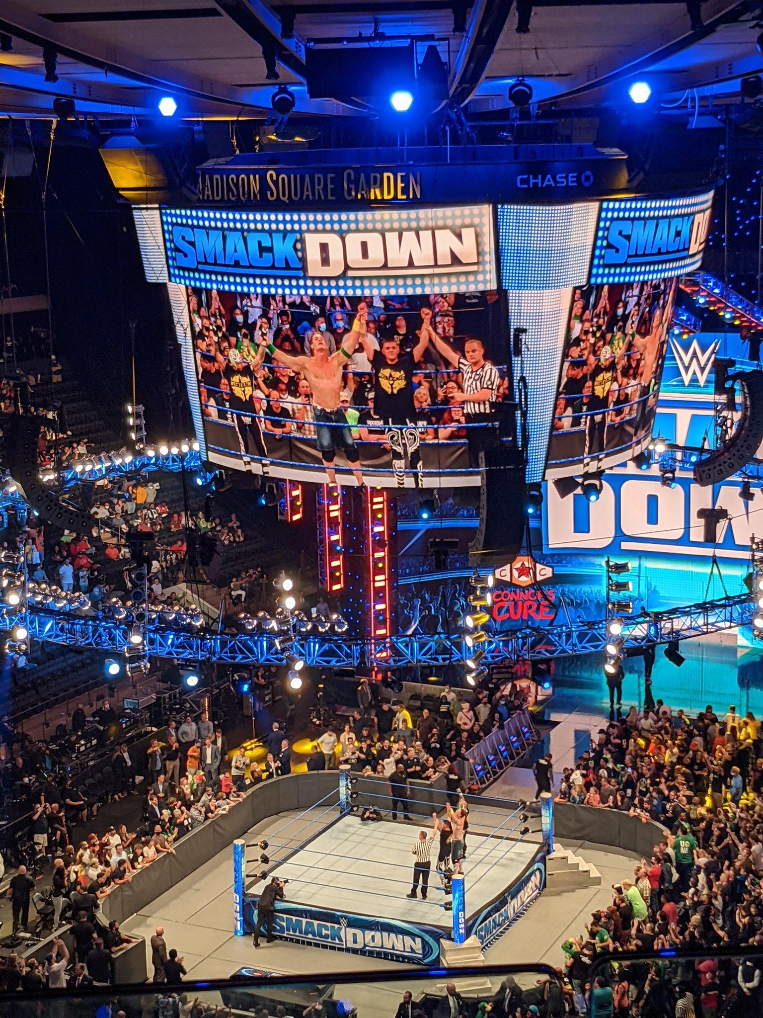 WWE Super Smackdown: John Cena Returns After Summerslam 2021 Loss 2