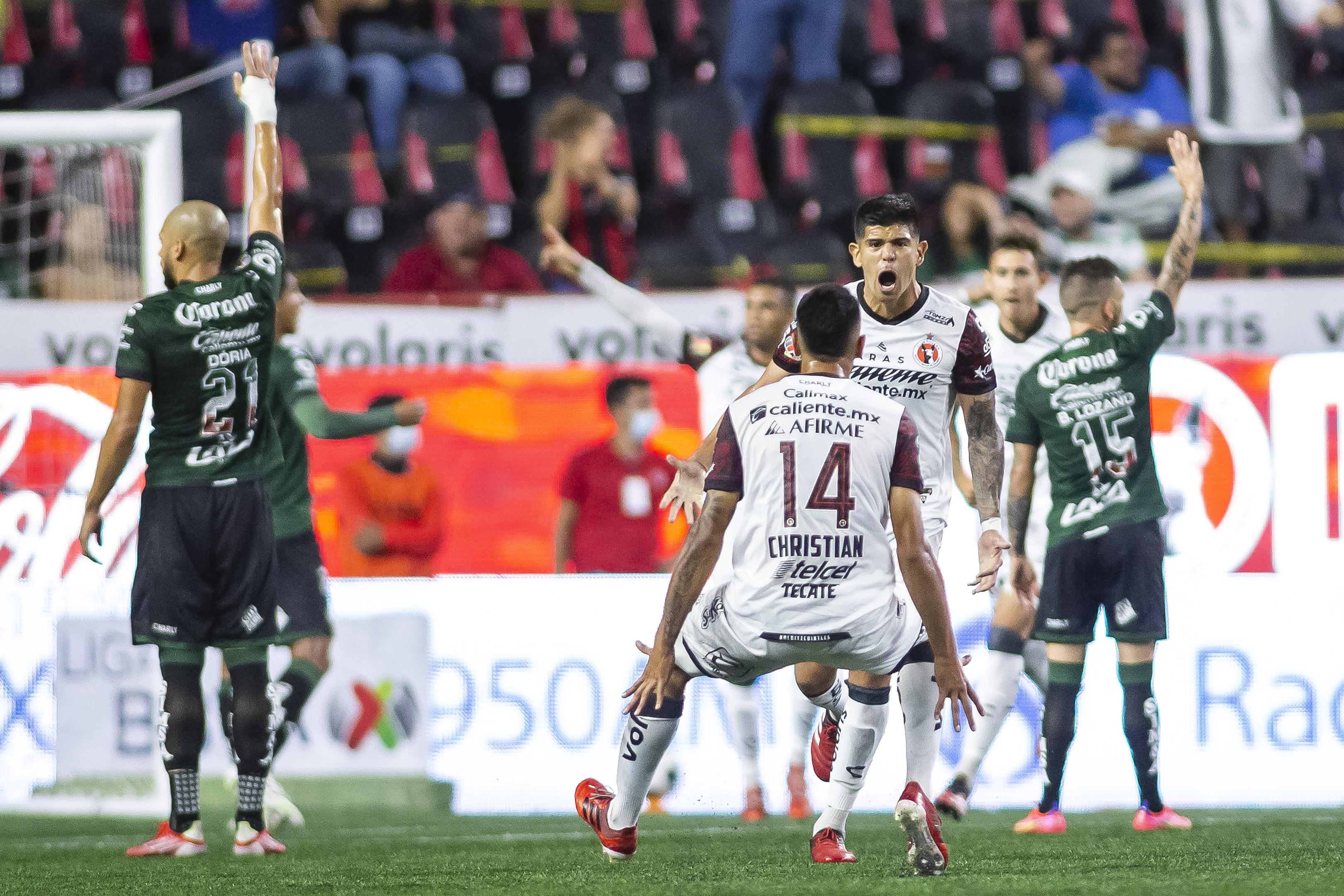 Tijuana vs Santos 1-1 Torneo Apertura 2021