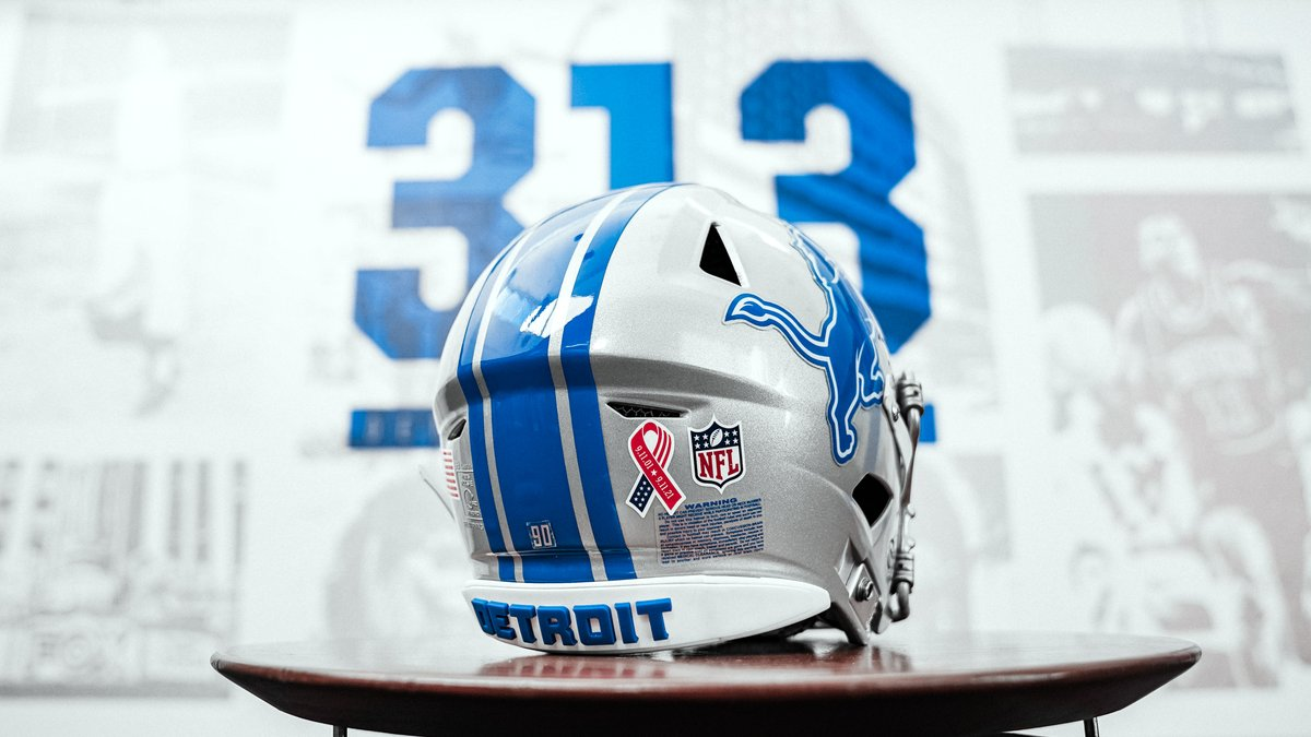 Our players will commemorate 9/11 with helmet decals during tomorrow's game.