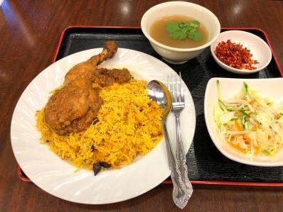 ミャンマー料理新店のランチビリヤニが美味い。「春」-<カレー細胞>-  #tabelog