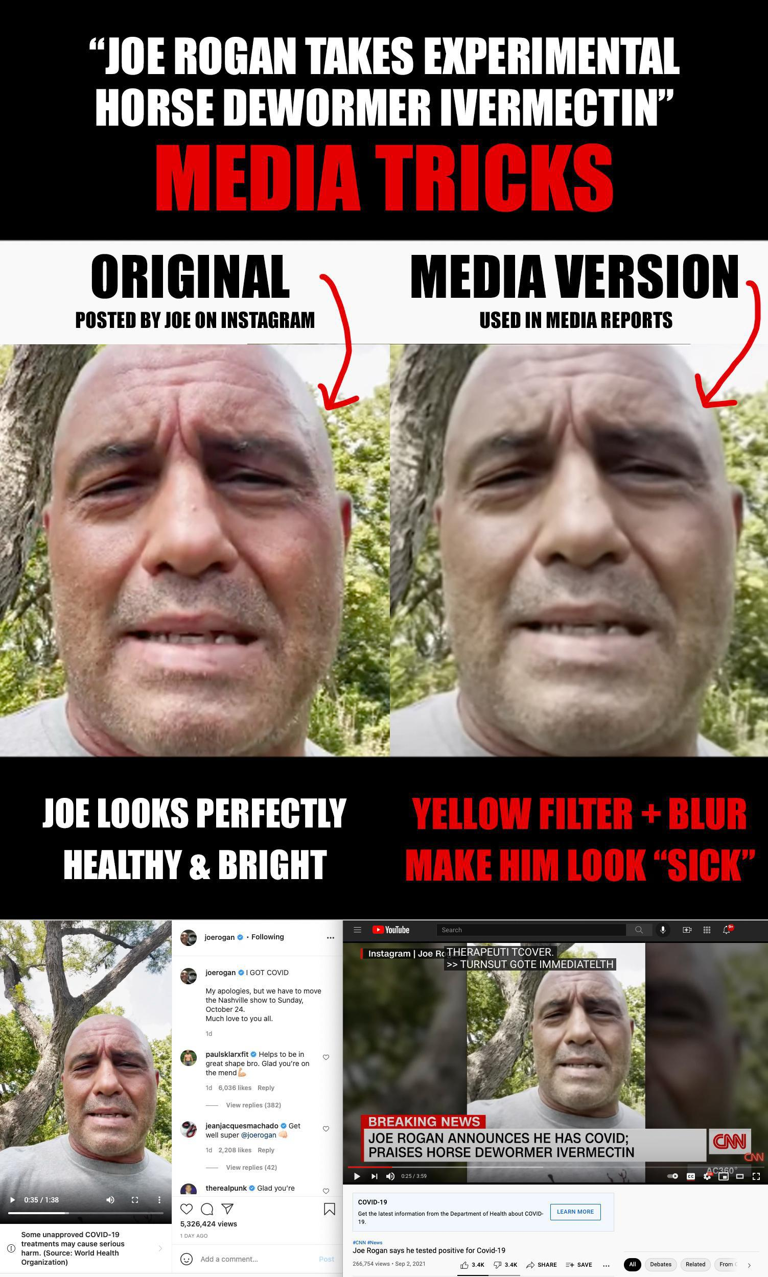 Joe Rogan Media Tricks Original
