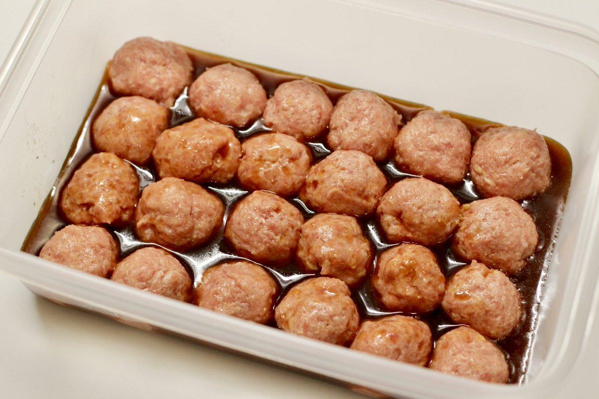 揚げる必要も茹でる必要もなし?!電子レンジで作れちゃう、お手軽な「ミートボール」のレシピ!