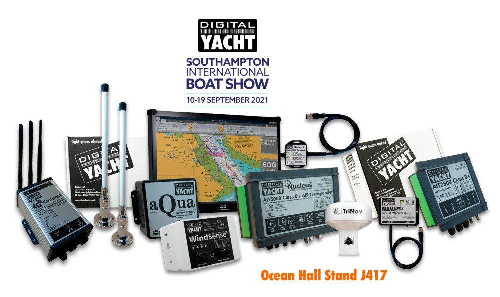 New Products from Digital Yacht at Southampton Boat Show Stand J417 https://t.co/CJ387FxfTH https://t.co/WMbVJvq8SK
