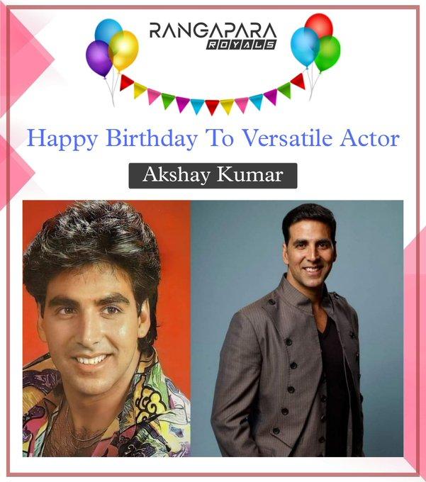 Happy birthday To Akshay Kumar  Stay Strong akki sir