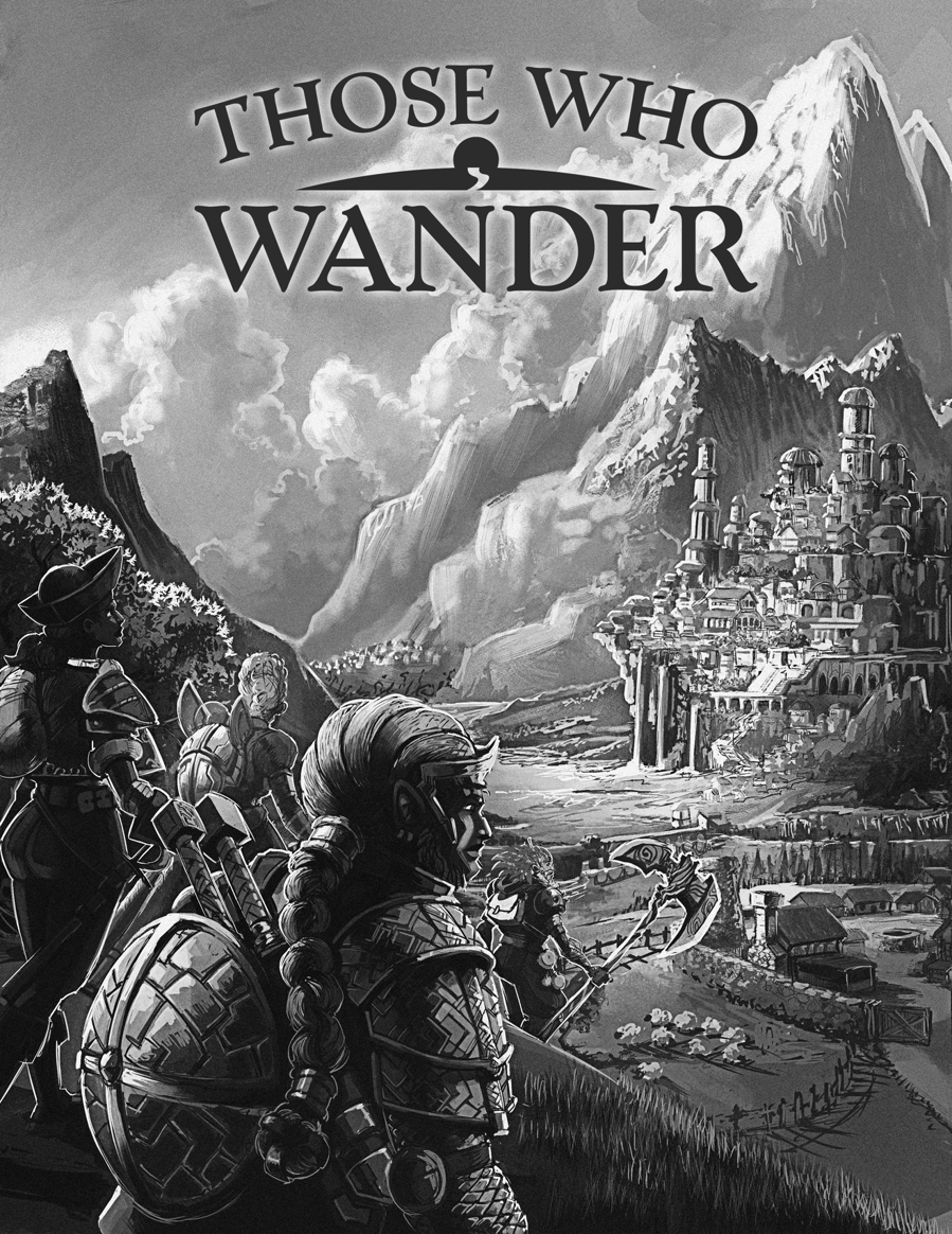 Those Who Wander Essential Rules - from Gnome Made Games  FREE