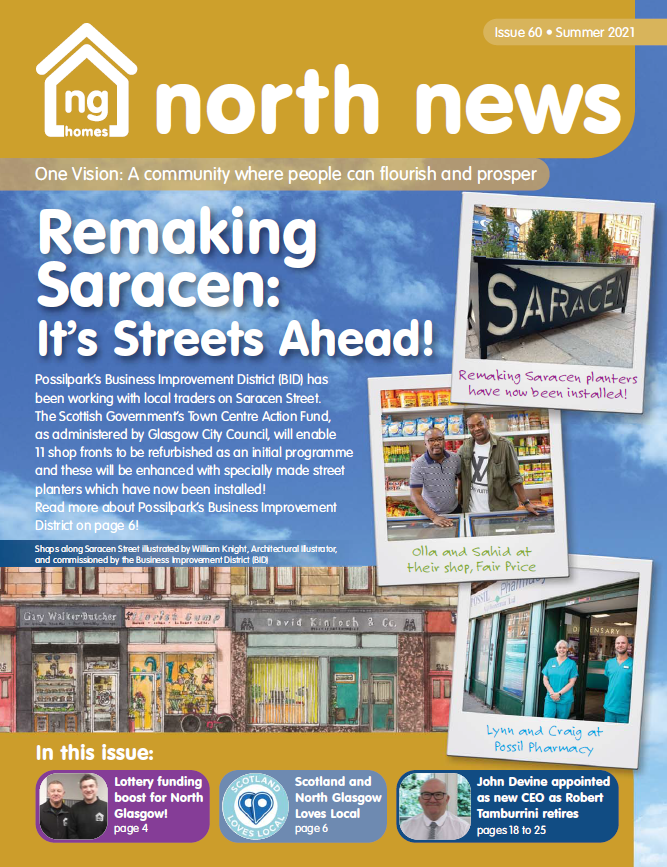 The latest issue of North News is available to read on our website and app! You can access the full library here: https://t.co/rZpiBFA2aH #NorthNews #nghomes #NorthGlasgow https://t.co/iWmYupHDc8