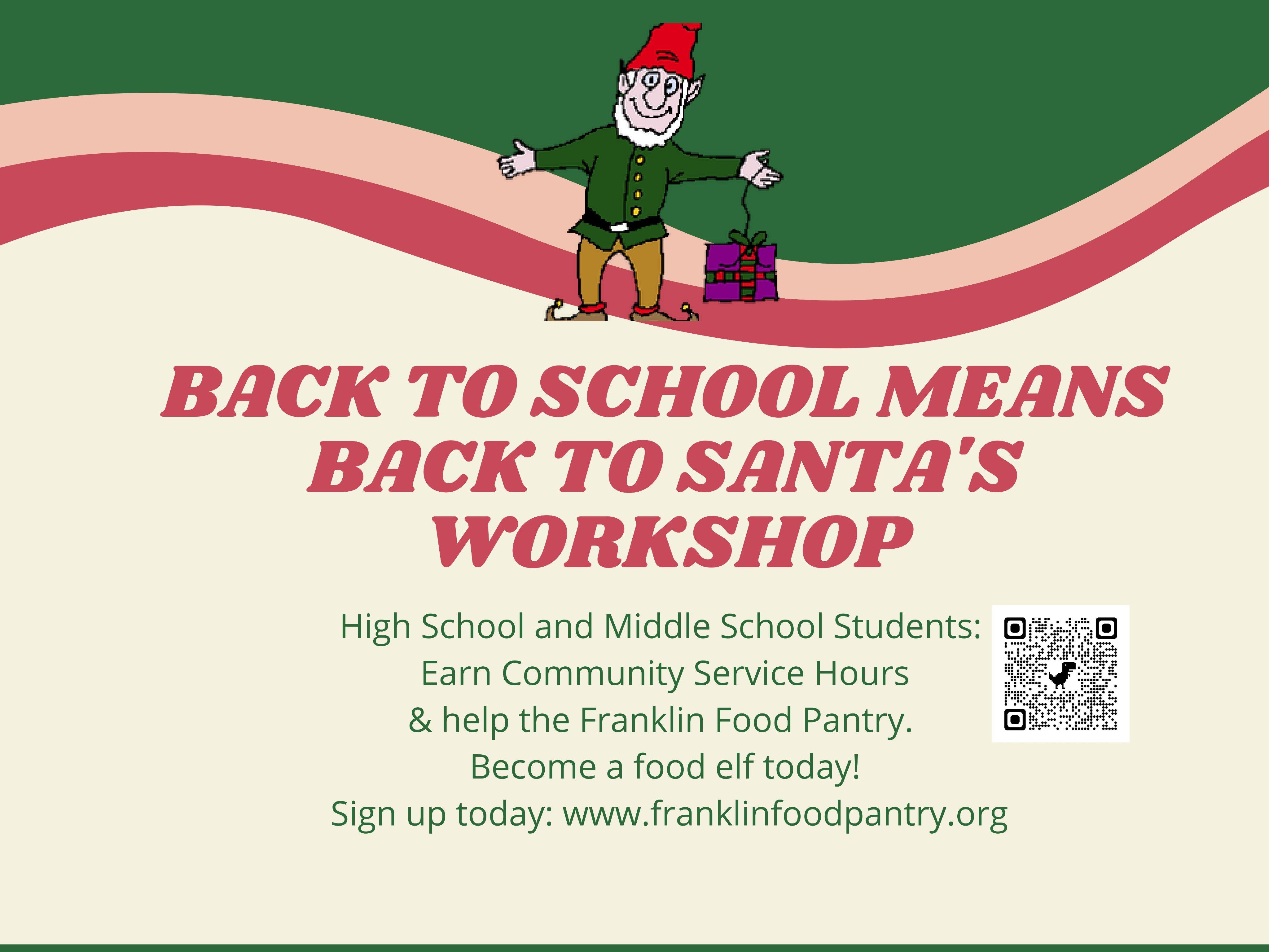 Registration is open for 2021 Food Elves