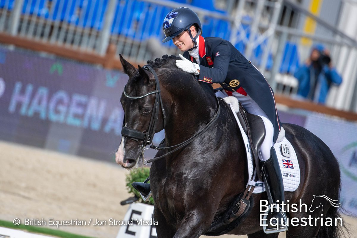 It's Grand Prix Special day! ⭐️ The action kicks off at 16:00 BST, and here are the British times... 🔹 @HughesDressage – 18:50 🔹 @HesterDressage – 19:10 🔹 @CSJDujardin – 21:00 🔹 @lottiefryy – 21:20 #EquestrianDressage #FEIDressage #MakeAmazingHappen #FEIEuros2021