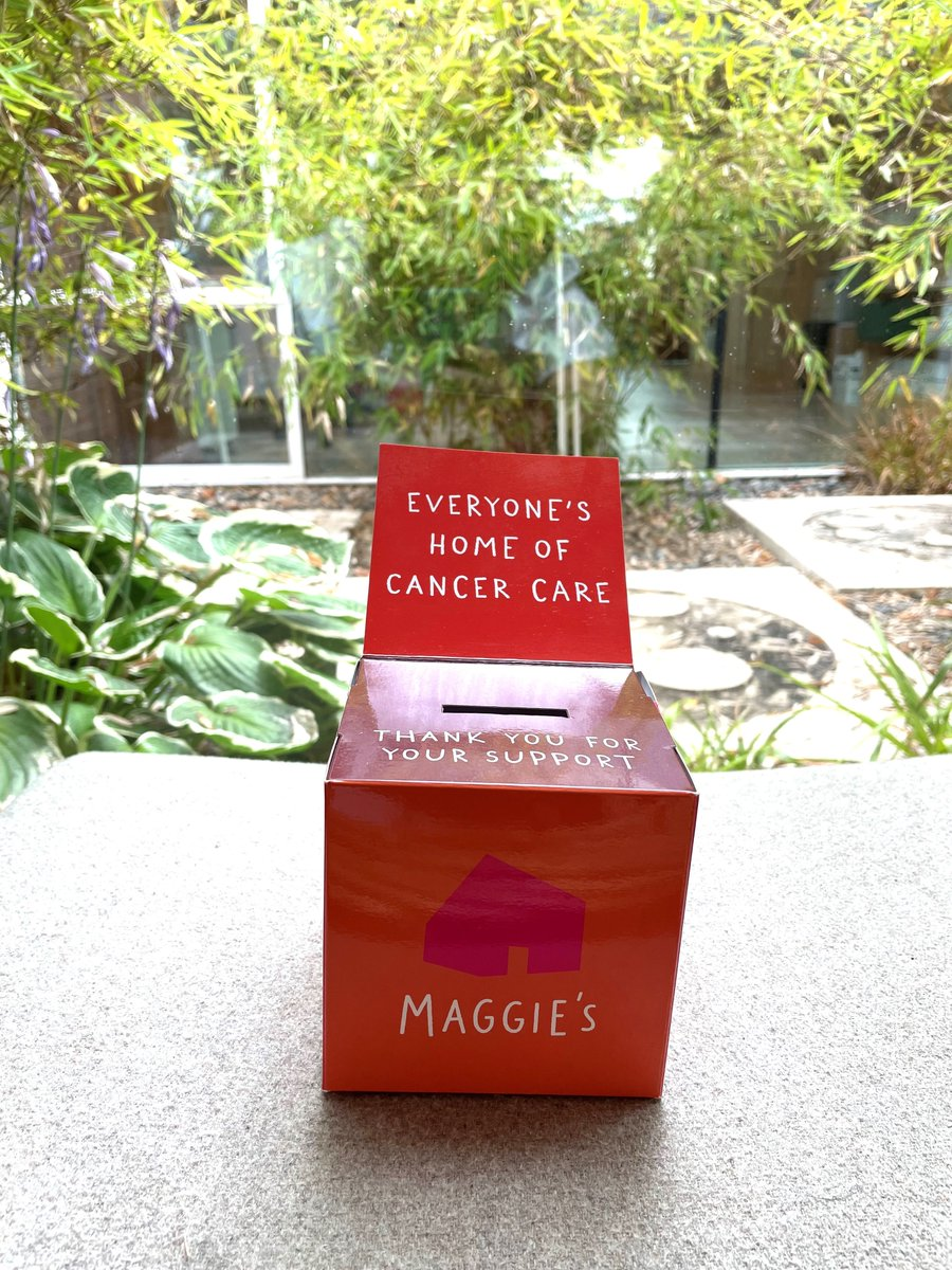 Check out our money box. A perfect place for your loose change at home! Even a little goes a long way to helping support people with cancer and their family and friends. Could you find a place in your home or office for one? If so comment below or call us on 01224 612 914