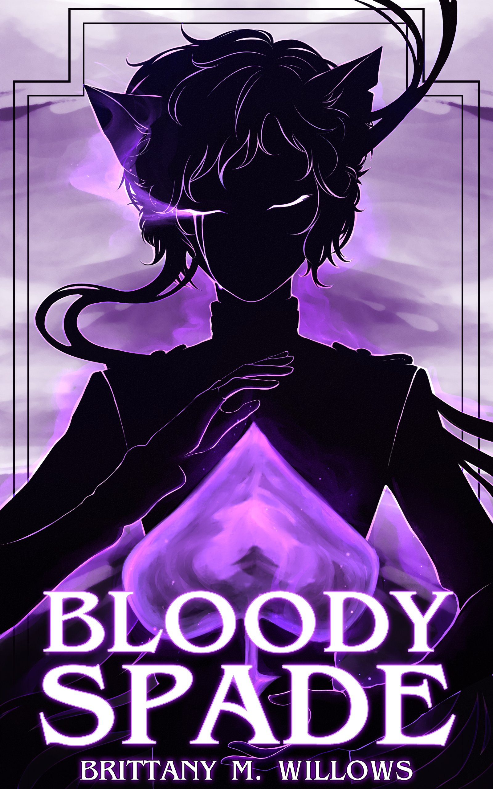 Bloody Spade Book Cover.