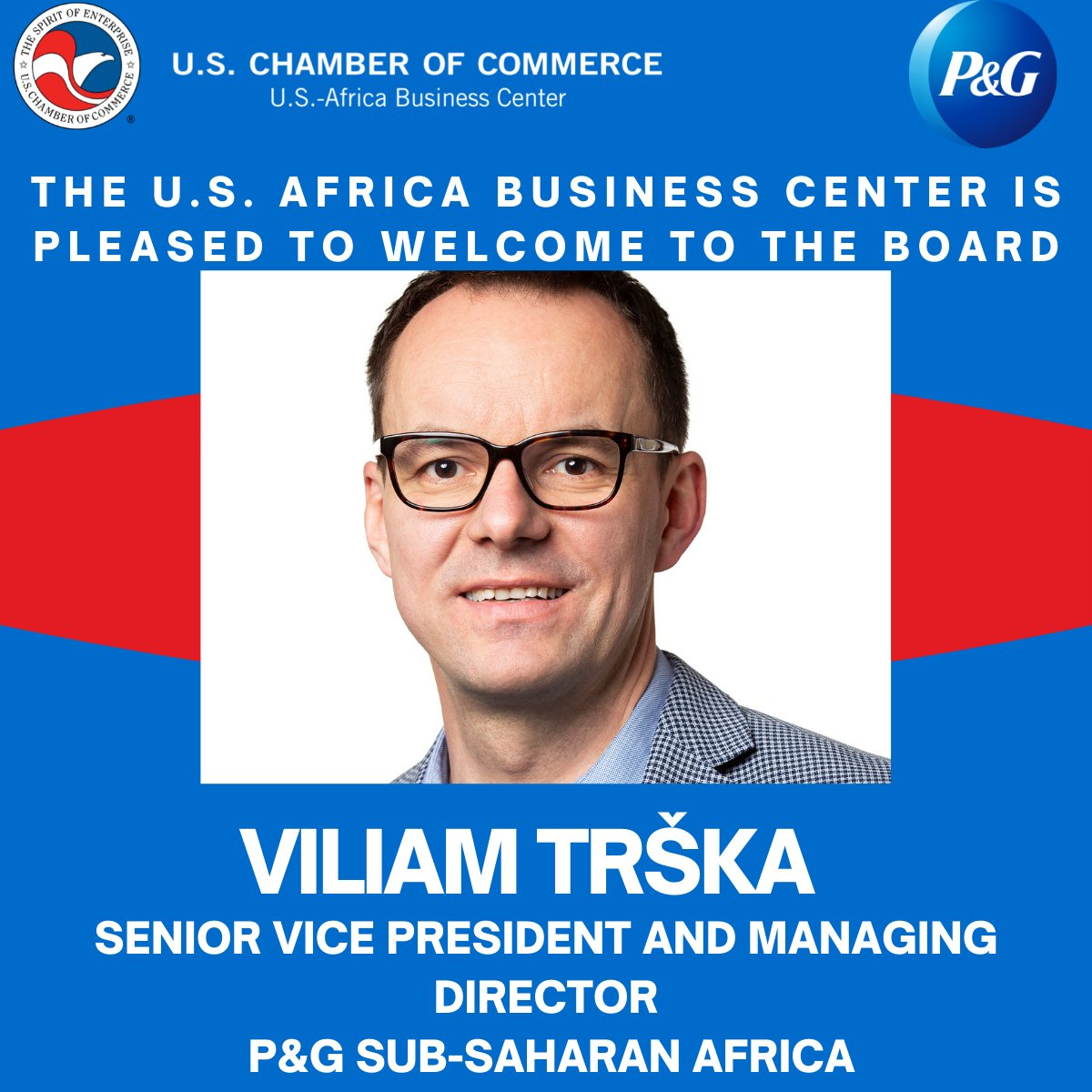 test Twitter Media - We are honored to welcome Vilo to the board of @USChamber's Africa Business Center. @ProcterGamble has made investing in Africa a key growth strategy- empowering the people they employ, their partners and the African communities they serve. https://t.co/7GBQjOLSIq