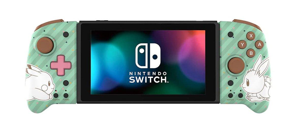 The Hori Nintendo Switch Split Pad Pro (Pokémon: Pikachu & Eevee) is $51 on Amazon. ()