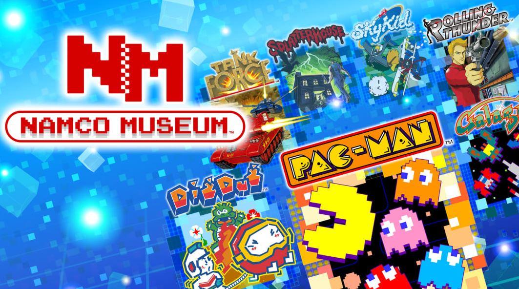 NAMCO MUSEUM (S) $7.49 via eShop.