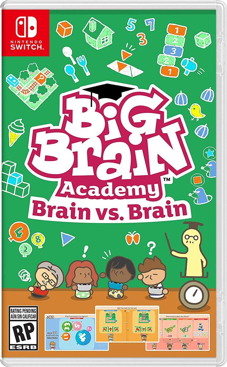 Pre-order Big Brain Academy: Brain vs. Brain for Switch for $29.99 on Amazon. ()